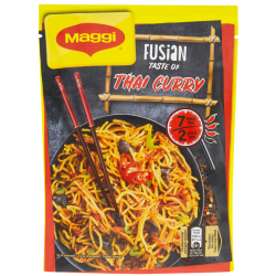 Pikantní smažené nudle s chutí Thai Curry Maggi Fusian1x128g