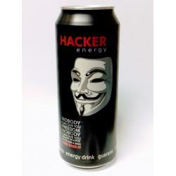 Energetický nápoj Hacker energy plech 500ml