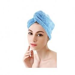 Turban na hlavu světle modrý