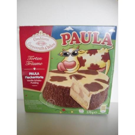 Paula flekatý dort 570g