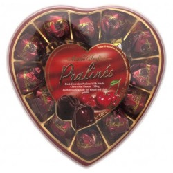 Čokoládové srdce višeň Maitre Truffout 140g