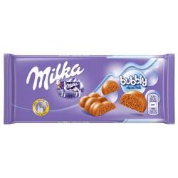 Čokoláda Bubbly milk Milka 90g