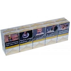 Kartonové balení tvrdá krabička cigarety s filtrem Marlboro Gold kolek F 134 Kč 10x20 ks