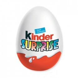 Čokoládové vajíčko s překvapením hračkou Kinder Surprise 20g