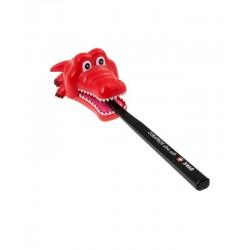 Držák na kartáček krokodýl - červený