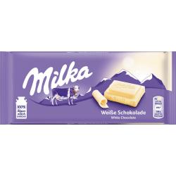 Bílá čokoláda - Milka 100g