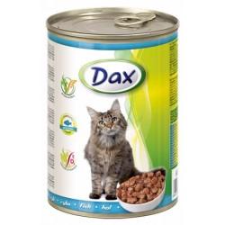 Kompletní krmivo pro dospělé kočky s rybou - Dax 415g