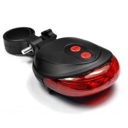 Laserové světlo na kolo