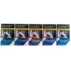 Kartonové balení tvrdá krabička cigarety s filtrem Davidoff Evolved Blue F 116 Kč 10x20 ks