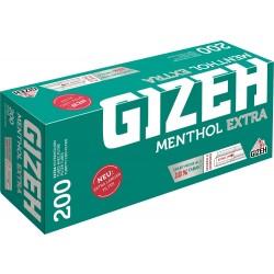 Cigaretové dutinky mentolové extra dlouhý filtr Gizeh 200 ks