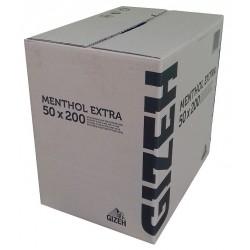 Cigaretové dutinky mentolové extra dlouhý filtr Gizeh 50x200 ks