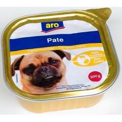 Kompletní krmivo pro dospělé psy s telecím a krůtím Pate aro 300 g