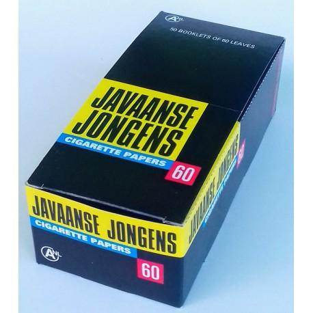 Cigaretové papírky Javaanse Jongens 60 ks