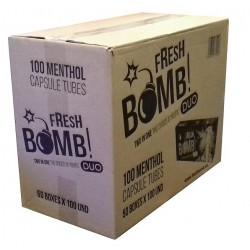 Cigaretové dutinky s kapslí mentholu Fresh Bomb ! Duo 50x100 ks
