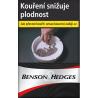 Kartonové balení cigarety s filtrem tvrdá krabičky Benson & Hedges Black 10x20ks