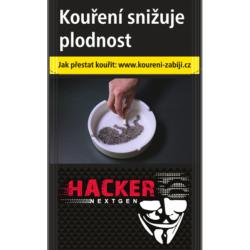Kartonové balení cigarety s filtrem Hacker Nextgen Red kolek Z 103 Kč 10x20ks