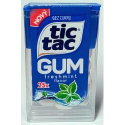 Žvýkačky Freshmint - Tic Tac 12,1g
