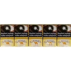Kartonové balení měkká krabička cigarety s filtrem Camel Yellow soft kolek F 115 Kč 10x20 ks