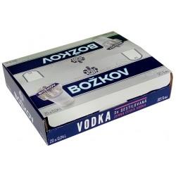 Alkohol-Bonboniéra Vodka Božkov 3x destilovaná 37,5% 20x0,04l