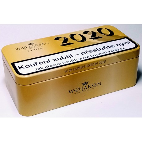 Dýmkový tabák plechová krabička limitovaná edice 2020 W•Ø•LARSEN 100g