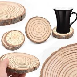 Dřevěný podtácek - letokruhy