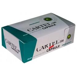 Cigaretové dutinky click on filter Cartel 100 ks