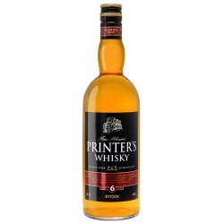 Printer's whisky aged 6 years 40% 1x0,7l