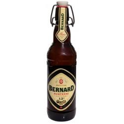 Záloha - zálohovaný vratný obal - pivní láhev s keramickou zátkou Bernard ( 7 Kč )
