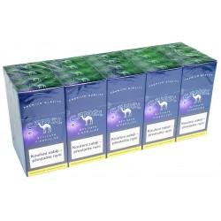 Kartonové balení tvrdá krabička cigaretové doutníčky Activate purple cigarillos Camel 10 ks