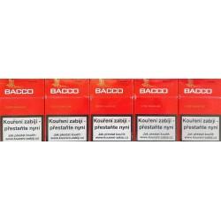 Kartonové balení tvrdá krabička cigaretové doutníčky s filtrem Bacco Classic 10x17ks