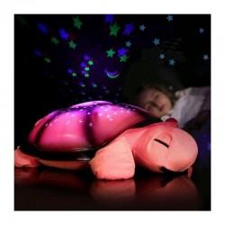 Noční svítící želvička růžová