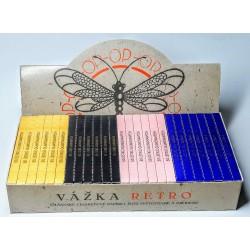 Olšanské světoznámé cigaretové papírky Vážka Reto edice 25 ks