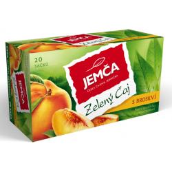 Zelený čaj s broskví Jemča (20 × 1,5 g) 30 g