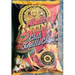Smažený kukuřičný snack s příchutí chilli - Antica Cantina Tortilla 450g