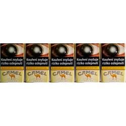 Kartonové balení tvrdá krabička cigarety s filtrem Camel Yellow kolek Z 117 Kč 10x20ks
