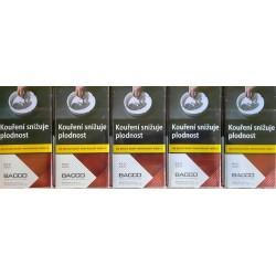 Kartonové balení tvrdá krabička cigarety s filtrem American Blend Bacco red 100's kolek F 101 Kč 10x20ks