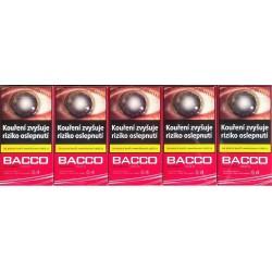 Kartonové balení tvrdá krabička cigarety s filtrem American Blend Bacco Classic 100's kolek F 99 Kč 10x20ks