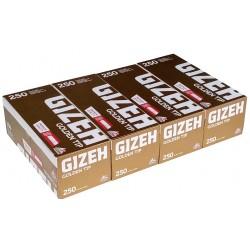 Cigaretové dutinky Premium Quality Golden Tip Gizeh 4x250 ks