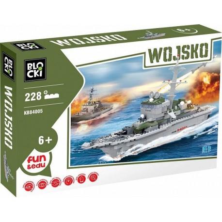 Stavebnice Válečná loď - fregata 228 dílů - ICOM Blocki