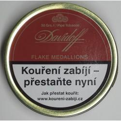Dýmkový tabák Flake Medallions Davidoff 50g