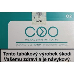 Kartonové balení zahřívané tabákové náplně COO Orange 05 6,6g tabáku (10x20ks)200ks / 10x(20x6,6g)1260g