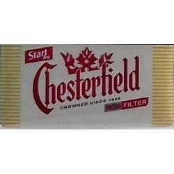Kartonové balení cigarety bez filtru Start Chesterfield kolek F 115 Kč 10x20 ks