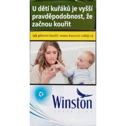 Kartonové balení cigarety s filtrem tvrdá krabička Winston super line option bez kapsle kolek F 117 Kč 10x20 ks
