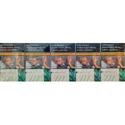 Kartonové balení tvrdá krabička cigarety s filtrem Karelia m slim kolek F 110 Kč 10x20 ks