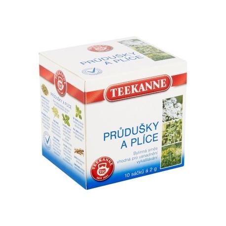 Teekanne Průdušky a plíce bylinný čaj 10x2g