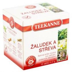 Žaludek a střeva bylinný čaj Teekanne 10x2g