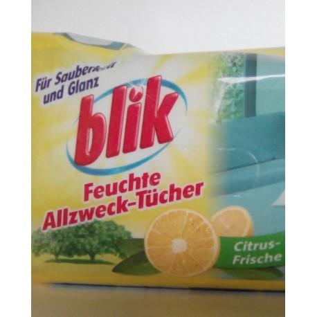 Blik vlhčené utěrky, ubrousky citrus frische 80ks