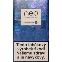 Purple click Neo designed for glo 6,8g/20ks 6,8g