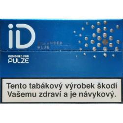 Zahřívané tabákové náplně ID Balanced Blue Designed For Pulze 5,6g/20 ks