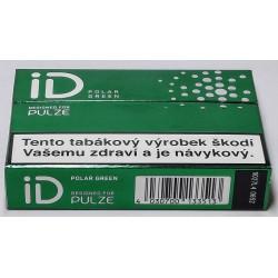 Zahřívané tabákové náplně ID Polar Green Designed For Pulze 5,6g/20 ks